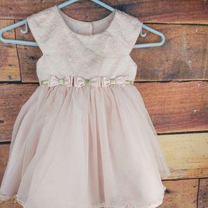 Girl pink tutu crinoline dress size 2